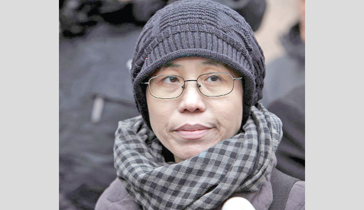 Fate of Chinese dissident's widow worries friends