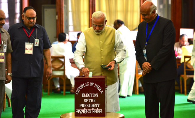 India votes for next president from lowest Dalit caste