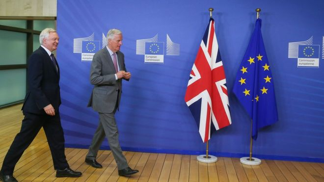 Second round of formal talks on Brexit starts in Brussels