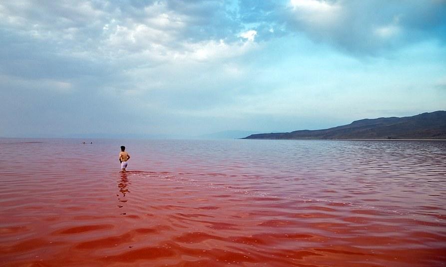 Iran says high UV radiation quadruples around Urmia Lake