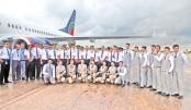 US-Bangla Airlines celebrates 3-year of operation