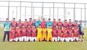 U-23 booters off to Palestine