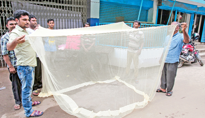 Sale of mosquito nets has increased