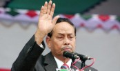 Ershad leaves for New Delhi on five-day visit