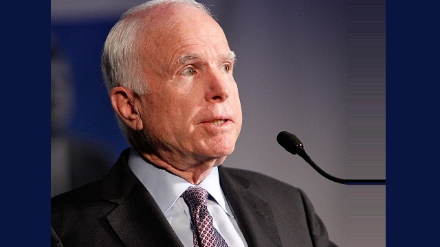 US Senator McCain diagnosed with aggressive brain cancer