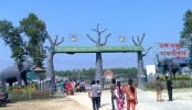 Joy visits Bangabandhu Safari Park