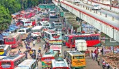 Haphazard bus parking causing traffic woes in city