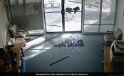 Aggressive goat vandalises office, shatters front door (Video)