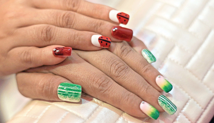 Nail Art Express Opens In Dhaka 2017 07 23 Daily Sun