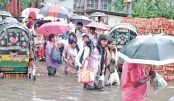Waterlogging hits port city