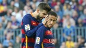 Neymar staying at Barcelona, says teammate Pique