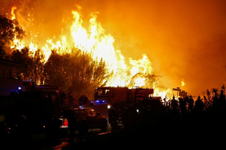 Hundreds battle wild fires across southern France