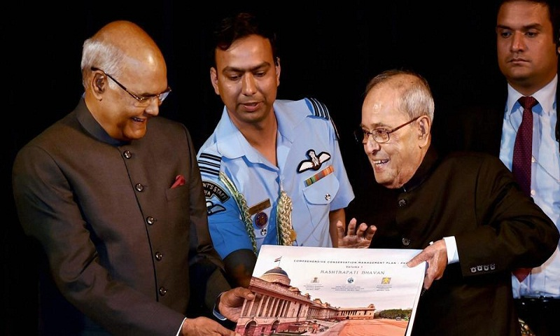 All you need to know about Ram Nath Kovind's swearing in: 21 gun salutes, change of seats