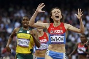 Russia enters 19 for athletics worlds despite doping ban