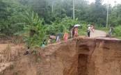 Rangamati-Khagrachhari road communication snapped