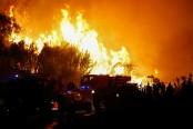 Hundreds battle wild fires across southern France