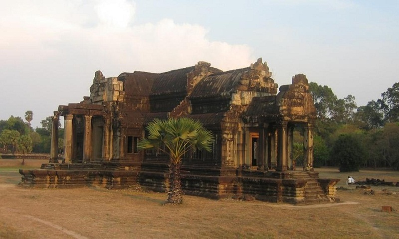 Cambodia's temple complex is a UNESCO world heritage site