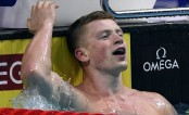 Peaty again breaks men's 50m breaststroke world record