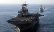 US Navy ship fires warning shots at Iranian ship in Persian Gulf