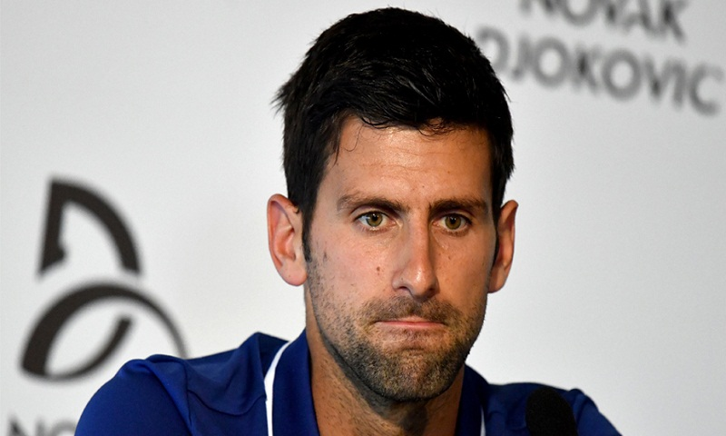Novak Djokovic out for season
