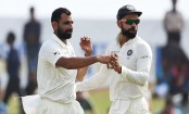 India keep tight grip on Galle Test; Sri Lanka end Day 2 at 154/5
