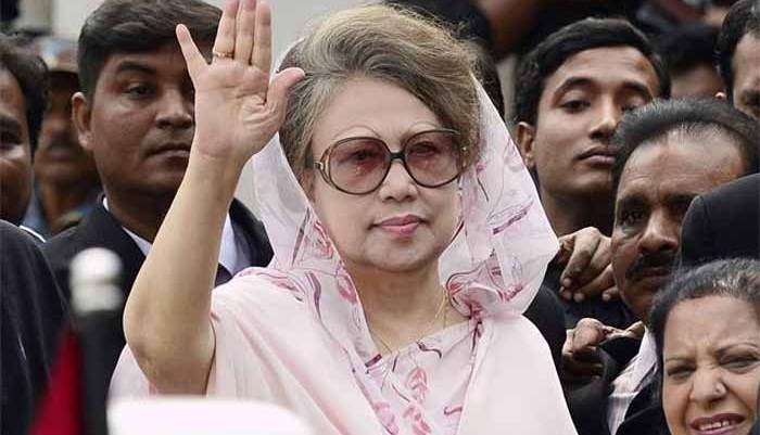 Khaleda absence in outdoor programmes to continue?