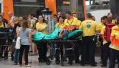 Dozens hurt in Barcelona rush-hour train crash