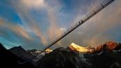 Zermatt: 'Longest' hanging pedestrian bridge opens in Switzerland