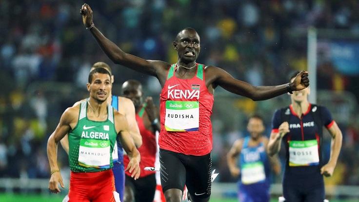 Kenyan star Athletics Rudisha out of world championships
