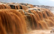 Hukou Waterfall reopens to visitors after flood