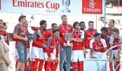 Beaten Arsenal lift Emirates Cup