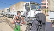 Besieged Syria area gets first aid in 5 yrs: UN