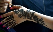 The changing colours of mehendi