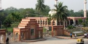 Jahangirnaar University students stage sit-in for 2nd day