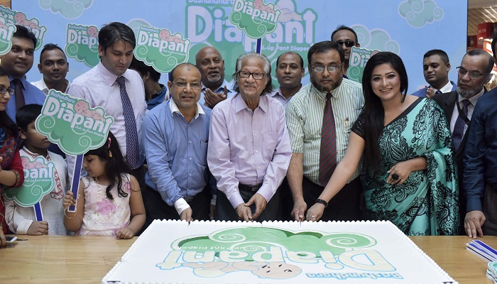 Bashundhara Diapant rolled out in city