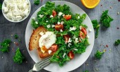 Eat your leafy vegetables and eggs. It may help keep your brain healthy