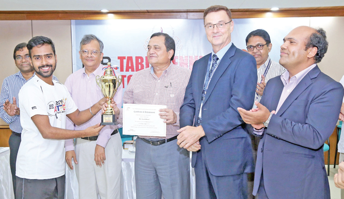 Intra-IUB TT Tournament concludes