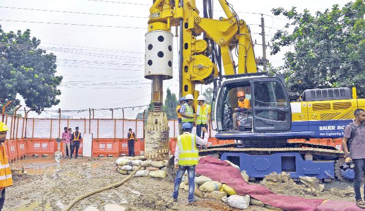 Work on metro rail begins