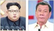 N Korean Kim a 'maniac': Duterte