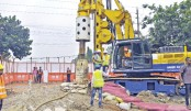 Work on metro rail begins