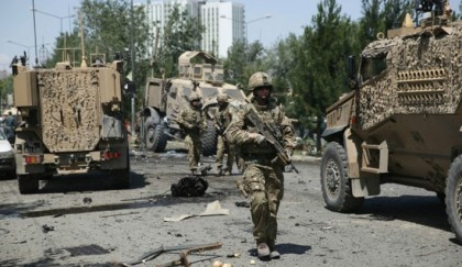Taliban attack NATO convoy  in Afghanistan