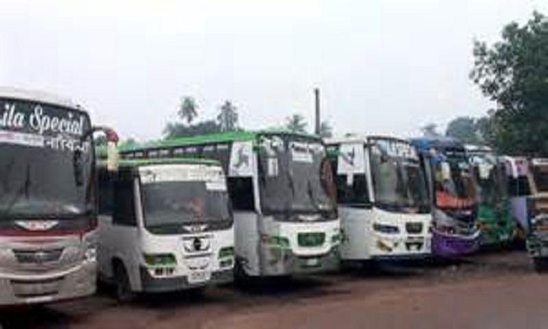 Natore-Bogra bus strike continues