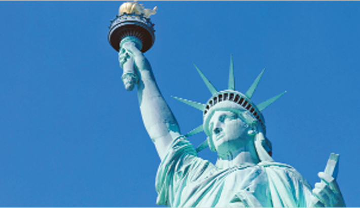 White House row over Statue of Liberty