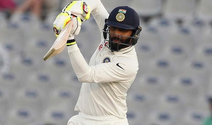 India hit 622-9 declared against Sri Lanka