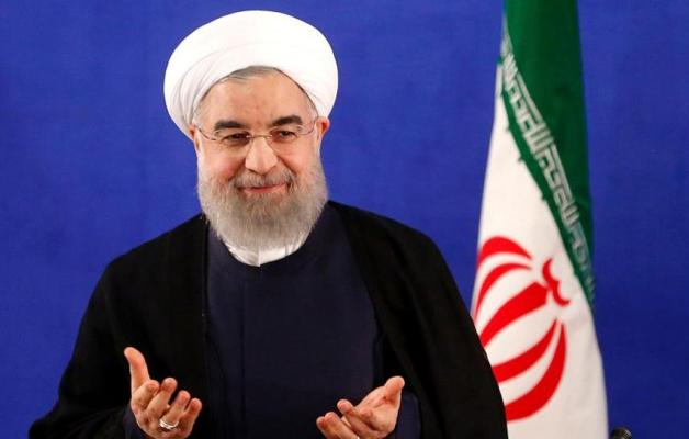 Iran's president Rouhani sworn in for second term