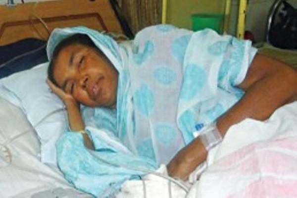 Bir Pratik Taramon Bibi hospitalised