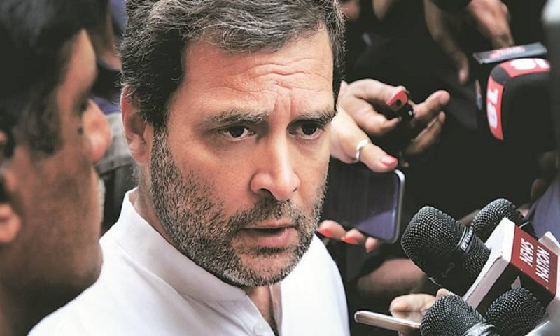 Attack on my car carried out by BJP-RSS people, says Rahul Gandhi