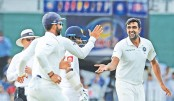 Ashwin strikes dent Sri Lanka reply