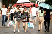 Heat wave continues in southern, central China
