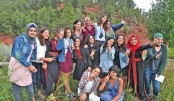 Palestinian, Israeli girls camping for peace in US wilderness